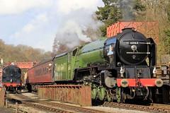 60163 'Tornado' - NYMR - 2018-03-07 (BillyGoat75) Tags: lner a1 60163 tornado steamengine locomotive goathlandstation northyorkshiremoorsrailway nymr heritagerailway