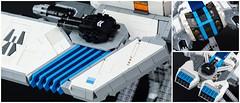 Ataraxis: Details (tardisblue) Tags: lego space moc spaceship ataraxis