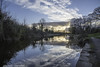 Sunset - DSC_0045 (John Hickey - fotosbyjohnh) Tags: 2018 event iwd internationalwomensday march2018 lucan westmanstown dublin ireland waterway water canal reflections reflectionsinwater clouds canalbank path pathway trees nature naturalbeauty