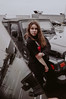 MLZ-32 (qauqe) Tags: vsco instagram ig model fashion ootd tallinn estonia girl woman photography portrait urban city parking lot car jeep shane dawson drew scott inspired inspiration winter timberland classics jjstreet streetstyle
