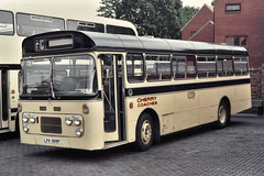 LPK988P (southlancs) Tags: aldervalley aldershotdistrict nbc plaxtonderwent plaxtons cherry fordr1014 ford