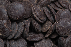 100% chocolate (jlodder) Tags: explored 100 dark chocolate unsweetened disks santabarbarachocolateco flickrfirday feedyourcreativity texture