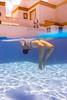 Mar floating (Sapient Iguana) Tags: swim swimming swimmingpool pool underwater overunder bubbles summer