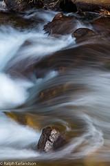 Water's Artistry (Ralph Earlandson) Tags: california abstract rapids eastsidesierra southforkbishopcreek fallcolors