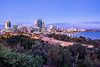 Perth Skyline from Kings Park, Western Australia (Khem A.) Tags: perthskylinefromkingspark westernaustralia perth skyline kings park western australi cbd cityscape fujifilm gfx gfx50s medium format 23mm gf twilight blue hour city buildings australia bluehour kingspark perthskyline mediumformat