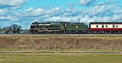 more crew training (midcheshireman) Tags: steam train locomotive railway royalscot mainline cheshire 46100
