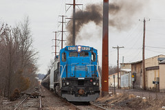PN GE C39-8 #8212 @ Hatfield, PA (Darryl Rule's Photography) Tags: 2018 bethlehembranch c398 clouds cloudy conrail diesel diesels emd february freight freightcar freighttrain freighttrains ge hatfield l160 lansdale local mixedfreight montgomerycounty pa pn pennsylvania pennsylvanianortheastern railroad railroads readinglines readingrailroad sd402w signal snow souderton station telford train trains winter