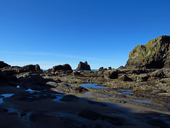 Low Tide at Pacific Coast in OR (Jeff Hollett in Vancouver, WA) Tags: pacificcoast pacificocean pacificnorthwest oregon ocean beach lowtide cannonbeach indianbeach
