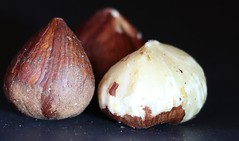 Hazelnuts, Imperfection (francepar95) Tags: macromondaysandimperfection theme imperfection hmm hazelnuts nuts