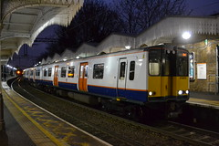 London Overground 315810 (Will Swain) Tags: edmonton green station north london 23rd december 2017 greater capital city south east train trains rail railway railways transport travel uk britain vehicle vehicles country england english class 315 overground 315810 810