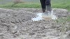 Splash in the mud with my wellies (WelliesWalker) Tags: boots rubber wellies boue bottes mud