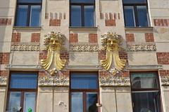 faces (Hayashina) Tags: moravia brno czechrepublic face twins window building