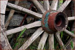 ROUND AND ROUND: rusty cartwheel | rostiges Wagenrad (DagBan) Tags: smileonsaturday roundandround cartwheel museumpasseier südtirol southtyrol rost rust outdoormuseum rusty ancient pentaxk70 wood holz speichen spoke verdigris grünspan decay zerfall