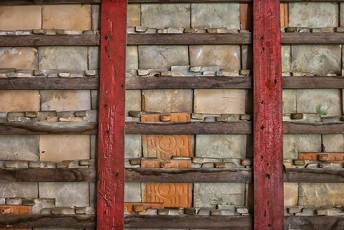 Temple roof ceramic tiles