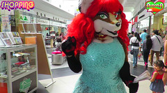 AURORA SPENCER SHOPPING (aurorathelittlevixen) Tags: aurora spencer selene garrido sexy fursuit superbabsy123 vixen foxy mexican girl furry fox supervixen fandom