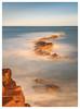 Peveril Teeth (don't count the pixels) Tags: dorset sea coast england uk rocks tide slowshutterspeed swanage sunset strata peverilpoint geology longexposure longexposurewater ndfilters