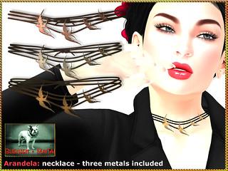 Bliensen - Arandela - necklace