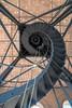 Meet Me At The Top (Sharky.pics) Tags: belltower clocktower unitedstatesofamerica cityhall staircase spiralstaircase clock unitedstates wisconsin milwaukeecityhall architecture 2015 milwaukee doorsopenmilwaukee september downtown us