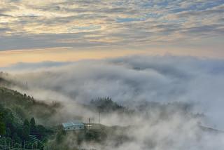 Misty, Mountain Dalun大崙山