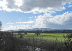 A Very English Landscape (Tudor Barlow) Tags: worcester worcestershire england rivers riversevern malvernhills bridges carringtonbridge spring canonpowershotsx620hs