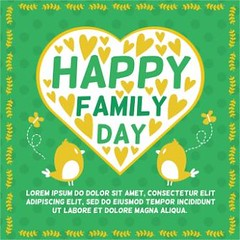 free vector happy Birds Family day Green heart background (cgvector) Tags: 2017 abstract anniversary art background banner beautiful birds blossom bow card care celebration concepts curve day decoration decorative design event family female festive flower fun gift graphic green greeting happiness happy heart holiday illustration lettering loop love mom mother mothers mum mummy ornament parent pattern pink present ribbon satin spring symbol text typography vector wallpaper