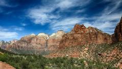 Zion National Park (alanj2007) Tags: canon 5dmarkiii zionnationalpark 24105mml canyon landscape sky mountain utah