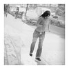 Just when we thought the snow had finally gone! (The Stig 2009) Tags: girl woman candid street jeans denim tight sexy weather winter thestig2009 thestig stig 2009 2018 tony o tonyo female black white snow