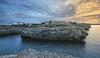 (131/18) Acantilado (Pablo Arias) Tags: pabloarias photoshop photomatix capturenxd españa cielo nubes arquitectura agua mar mediterráneo roca acantilado paisaje gaviota cala ´nforcat ciudadela menorca