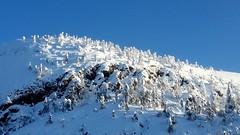 Ruka Kuusamo just now (sakarip) Tags: sakarip ruka kuusamo finland north morning cold winter snow hill mountain trees forest rock sky snowcovered deepnorth northof60 beautiful beautifullight beautifulearth