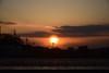 20180306_008_2 (まさちゃん) Tags: 夕陽 夕焼け空 空 雲 電柱 電線 silhouette シルエット