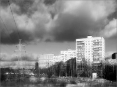light  and expanse... (Terra Lyusi) Tags: light expanse mono blackandwhite clouds