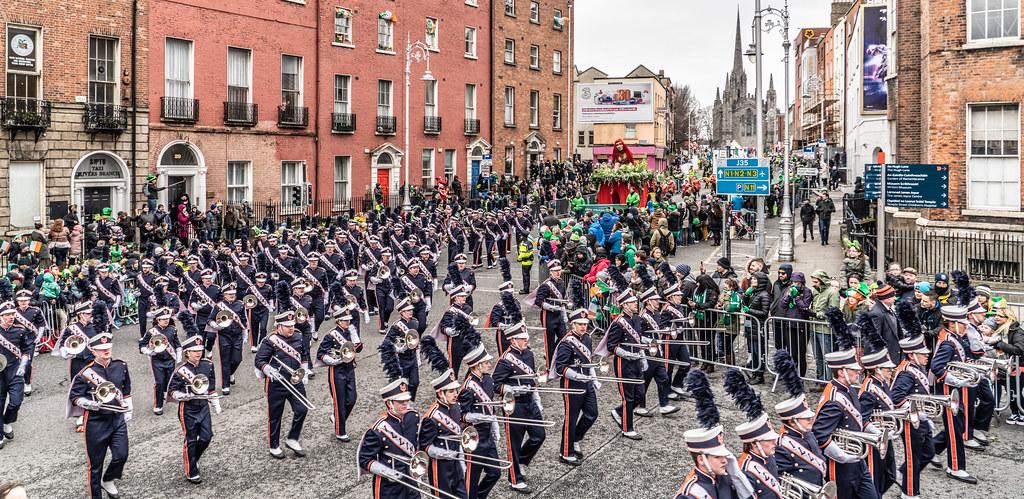 DUBLIN SAINT PATRICKS PARADE 2018 [THE MARCHING ILLINI]-137414