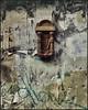 Nowhere Door Detail (Sally E J Hunter) Tags: door doorknocker doorknockers toronto britainstreet peeling paint