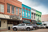 Colorful buildings - Abbeville, S.C. (DT's Photo Site - Anderson S.C.) Tags: canon 6d 24105mml lens abbevillesc small town america usa upstate southcarolina colorful building square old antique aged vanishing quaint fading scenic rural landscape green aqua gray shops stores city street business