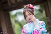DSC_9038 (Robin Huang 35) Tags: 陳思綺 pocky 桃園神社 神社 和服 二尺袖 卒業服 袴 人像 portrait lady girl nikon d810