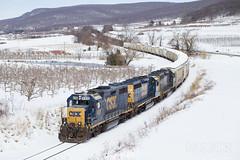 B702 At Smithsburg (DJ Witty) Tags: nikon d610 freight train photography csxt railroad smithsburg emd gp392