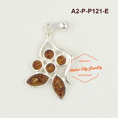 A2-P-P121-E (ACJ歐風小舖 - Amber City Jewelry) Tags: acj歐風小鋪 ambercityjewelry 波羅的海琥珀 925純銀 amber 925sterlingsilver 歐風 銀飾 墜飾 波蘭 圖騰