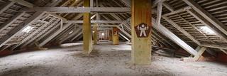 Attic gym / Dachboden-Sportraum