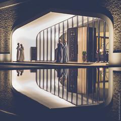 Reflected Keepers (izsofast) Tags: oman salalah leicaq leica reflection
