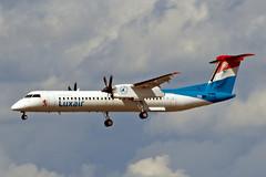 LX-LGG   de Havilland Canada DHC-8Q-402NG [4418] (Luxair) Frankfurt Int'l~D 19/08/2013 (raybarber2) Tags: 4418 airportdata cn4418 eddf flickr luxembourgcivil lxlgg propliner