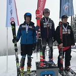 FIS BC Cup Men SL Podium - Grouse