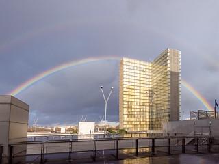 (Double) Rainbow over BNF