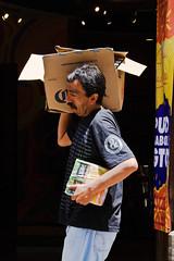 Damn heavy (klauslang99) Tags: streetphotography klauslang guanajuato mexico person carrying box