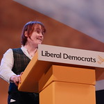 Zoe speaking at Conference Rally thumbnail