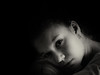 dreaming (lightfetcher) Tags: träumen dreaming frau gesicht black monochrom bw sw woman face portrait