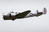Beechcraft B18-3TM Expeditor G-BKGL - Private (GeorgeCVT) Tags: georgealdrichphotography airplane aircraft plane aeroplane aviation airport flying flight d18 b18 beech beechcraft twin prop propeller vintage radial navy army airforce usaf us gbkgl 64 stripes classic flypast