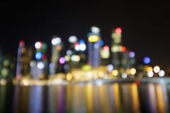 20171014-Canon EOS 750D-0510 (Bartek Rozanski) Tags: singapore outoffocus lights evening city skyline