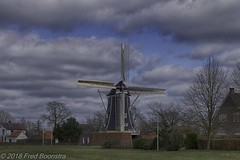 "Windmill ""Bataaf"" te Winterswijk  The Netherlands (Fred / Canon 70D) Tags: hdrefexpro2 sigma sigma18300mmf3563dcmacrooshsmc canon canon70d canoneos winterswijk bataaf mill windmill thenetherlands historicarchitecture monument achterhoek gelderland"