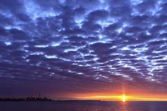 (Greg David) Tags: toronto torontosunrise sunrise lake ontario canada ca clouds sun water