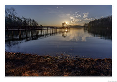 Sun Kissed Pier (John Cothron) Tags: 6stopneutraldensityfilter americansouth breakthroughphotography canoneos5dmkiv cothronphotography dawsonville distagon2128ze distagont2821ze dixie forsythcounty georgia johncothron lakelanier schottb270opticalglass southatlanticstates southernregion thesouth us usa unitedstatesofamerica warhillpark x4nd6stop zeissdistagont2821ze beach calm clearsky cold lake lakeshore landscape morninglight nature oceanshore outdoor outside pier reflection reservoir scenic seashore serene sky sunflare sunstar sunburst sunny sunrise tranquil water winter img24722180318edit ©johncothron2018 sunkissedpier